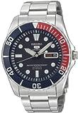 Seiko Men's SNZF15 Seiko 5 Automatic Blue Dial Stainless-Steel...