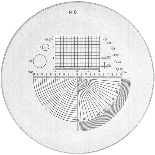 PEAK TSPS01-10 Loupe Precision Universal Graph