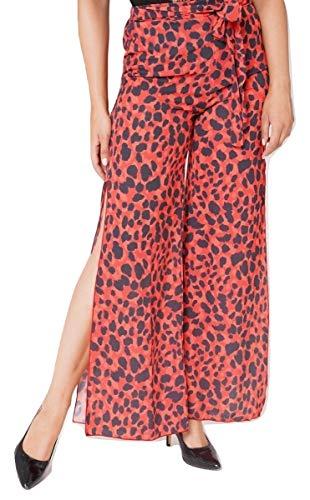 Donna Fashions amp;Ayat Flare Pantaloni Momo Red anFB6qB0