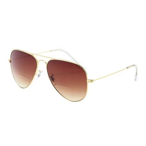 Gafas de Sol bifocales LianSan para Hombre y Mujer 70s/80S ...
