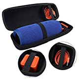 EVA Hard Case Travel Carrying Storage Bag for JBL Charge3 Charge 3 Wireless Bluetooth Portable Speaker (Black)