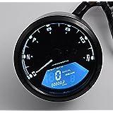 AOAUTO(TM) Arrival LCD Digital Tachometer Speedometer Odometer Motorcycle Motorbike