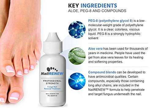 NailRENEW Antifungal - #1 Nail Fungus Treatment on the Market for Toenail and Fingernail Fungus, Discolored or Brittle Fungal Nails. (3) by NailRENEW (Image #3)