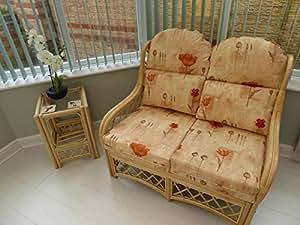 País Otoño Cane conservatorio juego de muebles sofá con mesa auxiliar