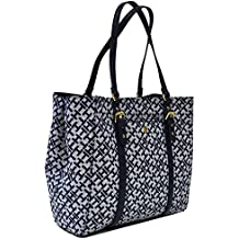 Tommy Hilfiger Double Pocket Tote Purse