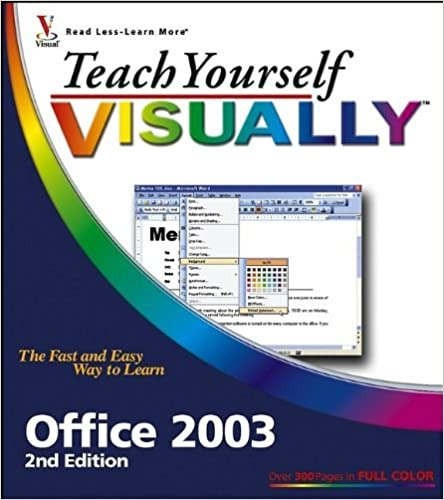 Teach Yourself VISUALLY Office 2003 by Sherry Willard Kinkoph (2005-10-31)