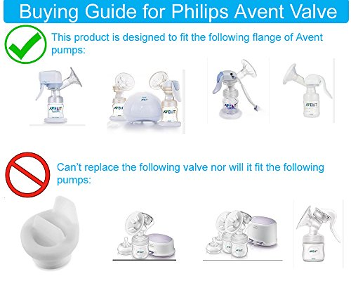 Amazon Com Maymom Pump Valves For Philips Avent Isis Breast