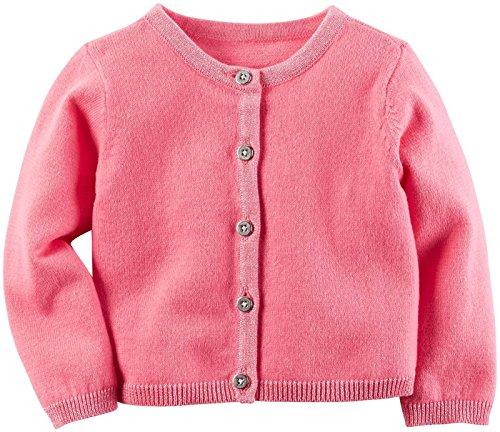 Carter's Baby Girls Cardigans, Pink, 24M