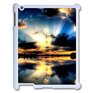 LZHCASE Diy Cover Custom Case Sunset For IPad 2,3,4 [Pattern-6]