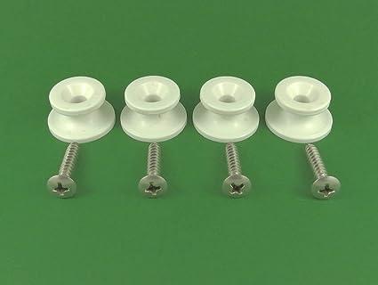 BP P43 P76 blanco botones de plástico para barco con ...