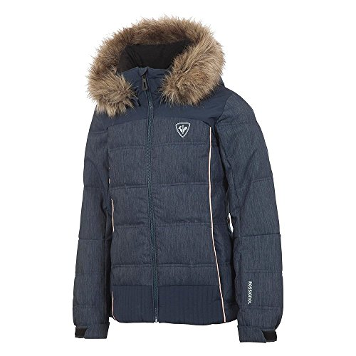 Rossignol Girl BB Polydown Denim Insulated Ski Jacket Girls by Rossignol