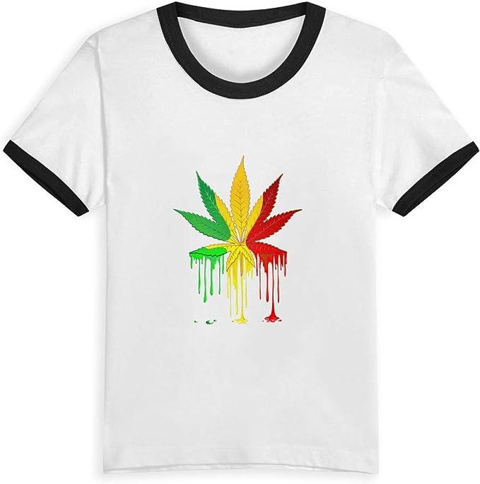 Queen Elena - Camiseta de Manga Corta para niños, diseño de Hojas ...