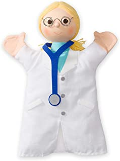 product image for Magic Cabin Career Hand Puppets - Doctor 3.15 L x 7.87 W x 10.24 H