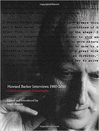 Book Howard Barker Interviews 1980-2010: Conversations in Catastrophe