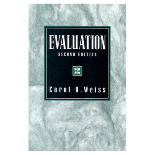 Evaluation: Methods for Studying Programs and Policies, 2nd Edition