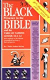 The Black Presence in the Bible and the Table of Nations, Walter A. McCray, 0933176244