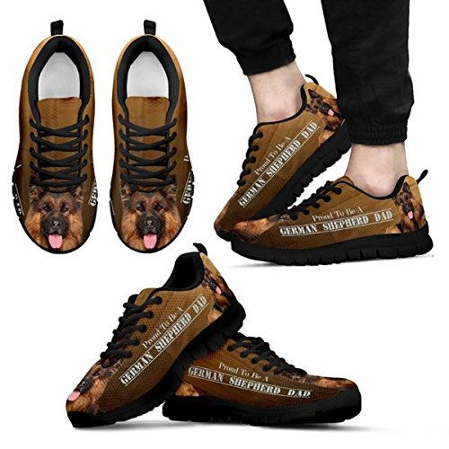Dog German Men's Brand Shepherd 7 Casual Print Sneakers 5 Amazing qAwtnnfB