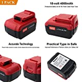 GOOD MEDIA 18 Volt Cordless Power Tools Replacement Lithium Ion Battery For Porter Cable ✅