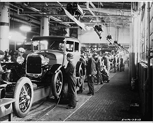 Media Storehouse 20x16 Print of Ford Factory (19059515)