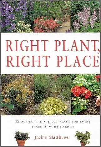 Last ned enkel bok for joomla Right Plant Right Place (Gardening Essentials) 184215429X PDF DJVU FB2 by Jackie Matthews