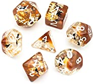 Polyhedral Dice Sets DND Four Seasons Dice for Dungeons and Dragons(D&D) Role Playing Game(RPG) MTG Pathfi