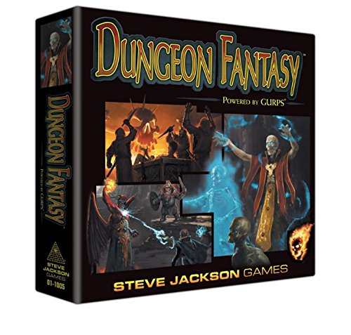 Dungeon Fantasy Roleplaying Game Steve Jackson Games