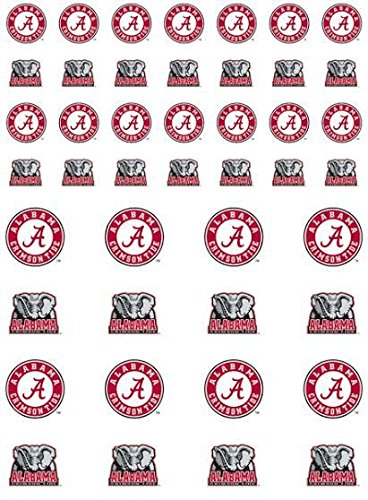 NCAA Alabama Crimson Tide Fanatic Group Sticker Sheet