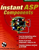 img - for Instant ASP Components (Book/CD-ROM package) book / textbook / text book