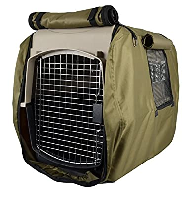 Pet Spaces Adjustable Kennel Cover from PM&J, LLC