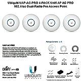 Ubiquiti UAP-AC-PRO 4-PACK Unifi AP AC PRO 11ac Dual-Radio Pro Access Point