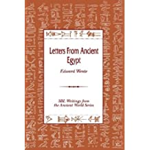 Letters from Ancient Egypt. Society of Biblical Literature Writing from the Ancient World Series Volume 1