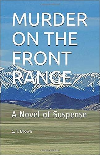 Descargar Utorrent En Español Murder On The Front Range: A Novel Of Suspense Pagina Epub