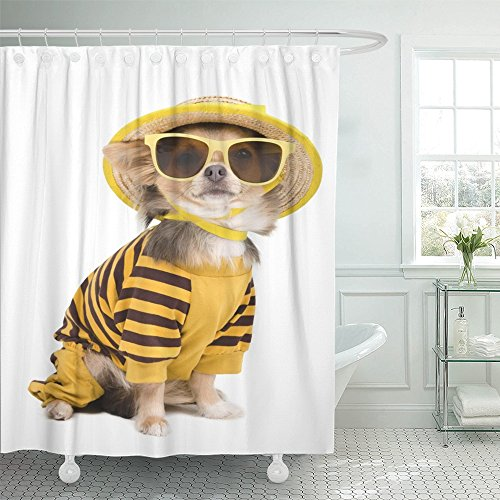 Emvency Shower Curtain Waterproof 72