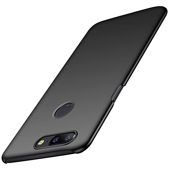 pretty nice c09e6 a7540 Anccer Compatible for OnePlus 5T Case [Colorful Series] [Ultra-Thin Fit]  Premium Material Slim Cover for OnePlus 5T (Smooth Black)