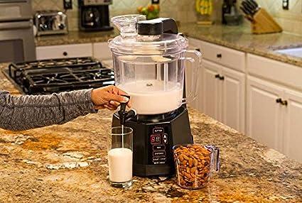 nutra Milk Vegan nogal nuez de leche mantequilla aufbereiter: perfectamente. almendras, CASHEWS, todos los frutos secos, crea, salsas, aufstriche, Batidos, ...