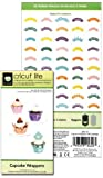 Cricut Lite Cartridge, Cupcake Wrappers by Provo Craft