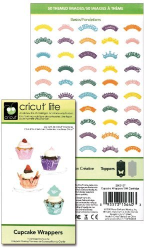 Cricut Lite Cartridge, Cupcake Wrappers by Provo Craft by Provo Craft