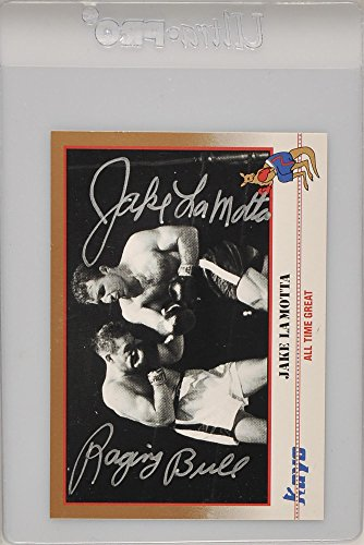 Best Cards Autographed Card - Jake LaMotta Autographed Trading Card with