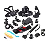 For Gopro Accessories 12 in 1 Outdoor Sports Essentials Kit Set for GoPro Hero Series Camera Accessories kit set for SJ4000 5000