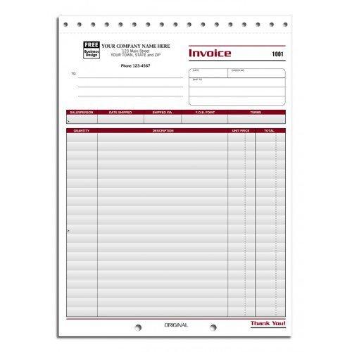 Professional Invoices by PrintEZ