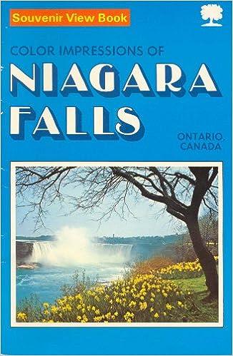 Souvenir View Book Color Impressions of Niagara Falls