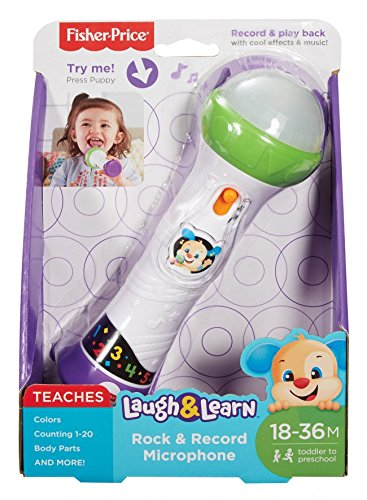 Fisher-Price FBP30 Laugh And Learn Rock e Registrazione Microfono Mattel
