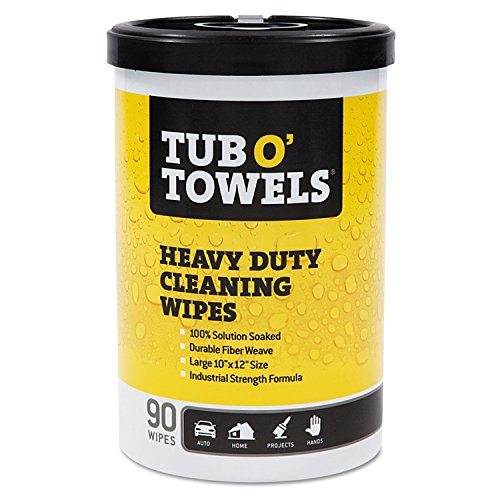 Gasoila Chemicals TW90 Tub-O Towels Multi Purpose Towels, Canister, 45 oz., Orange (Tub Of Towels compare prices)