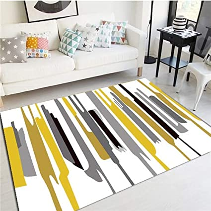 Amazon.com: Floor Rug Modern Rugs Minimalist Carpet for Living Room ...