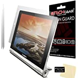 TECHGEAR® Ultra Clear Screen Protector for Lenovo Yoga 10 B8000Tablet with Cleaning Cloth 2 x Matte / Anti Glare