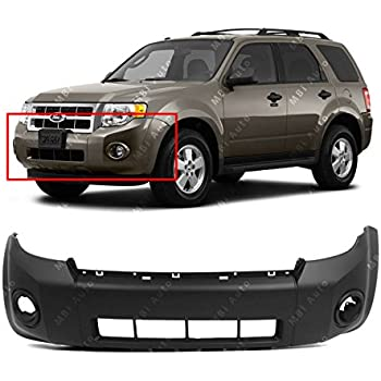DAT AUTO PARTS Front Bumper Cover Side Reinforcement Bracket Replacement for 08-12 Ford Escape Left Driver Side FO1042127