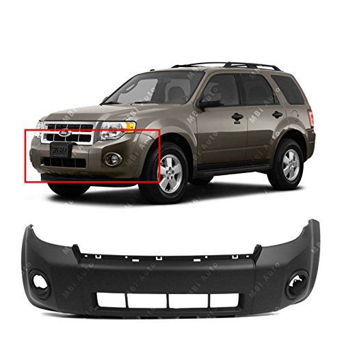 MBI AUTO - Primered, Front Bumper Cover Fascia for 2008-2012 Ford Escape 08-12, FO1000621 ()