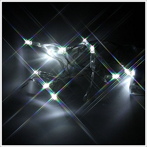 Christmas 10 LED Lights (Battery Type) (Halloween Comet Size)