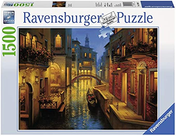 Ravensburger Waters of Venice 1500 Piece Jigsaw Puzzle for Adult