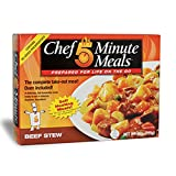 Chef 5 Minute Meals Beef Stew Self-Heating Boxed Meal Kit